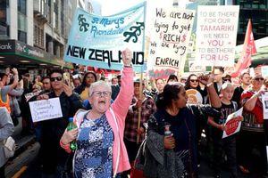 50.000 giáo viên biểu tình tại các trường học New Zealand
