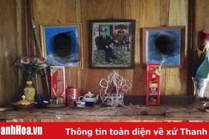 Tục thờ cúng ông bà tổ tiên của người Thái