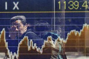 Chứng khoán châu Á đồng loạt giảm vì nỗi lo suy thoái toàn cầu