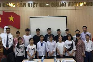 12 học sinh Việt Nam sắp lên đường thăm hữu nghị Nhật Bản