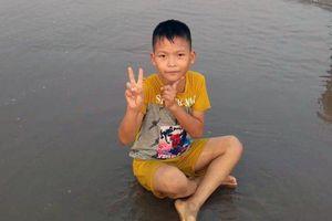 Tìm kiếm tung tích nam sinh lớp 3 mất tích ở Thái Bình