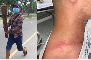 TP HCM: CSGT nói gì về vụ 'tiếp thị sữa' tấn công người đi đường?
