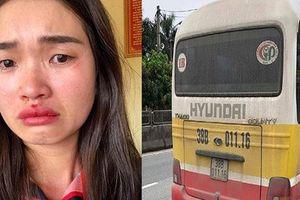 Vụ xe buýt 'dù' giật tóc, đánh chảy máu mũi cô gái: Phạt vợ chồng chủ xe 5 triệu đồng