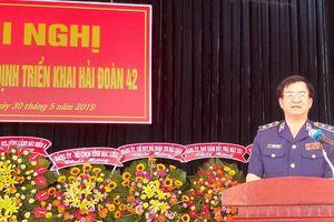 Bộ Tư lệnh Vùng Cảnh sát biển 4 công bố quyết định triển khai Hải đoàn 42
