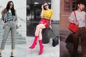 Mẹo biến tấu áo thun cổ điển chất như fashionista đích thực
