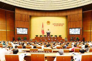 Quốc hội đang thảo luận về tình hình kinh tế - xã hội 2019