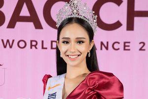 Hoa hậu Thế giới người Việt Hương Trà muốn 'kế nhiệm' Tiểu Vy thi Miss World