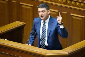 Bác đơn từ chức của thủ tướng, Quốc hội Ukraine nói không với tổng thống