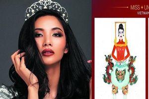 Lại tranh cãi quốc phục cho Hoa hậu Hoàn vũ