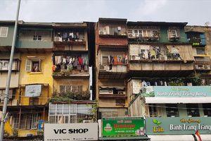 Khu tập thể có nguy cơ sụp đổ: Những hộ không di chuyển sẽ bị cưỡng chế