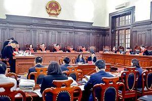 Kỳ họp tháng 5/2019 của Hội đồng thẩm phán TANDTC: Một số vấn đề nghiệp vụ