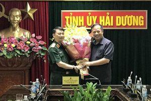 Thăng hàm Thiếu tướng, bổ nhiệm Phó Tư lệnh Quân khu 3