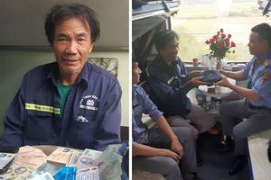 Đường sắt liên tiếp trả lại tài sản cho hành khách bỏ quên trên tàu