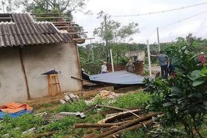 Yên Bái: Mưa dông khiến 1 người chết, nhiều nhà bị tốc mái