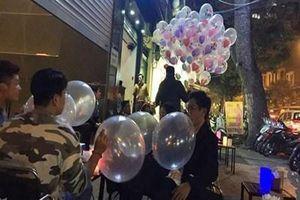 Bóng cười chính thức trong danh mục cấm tại Hà Nội