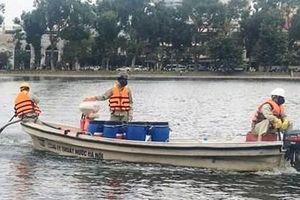 Hà Nội thanh tra toàn diện chế phẩm Redoxy-3C làm sạch hồ