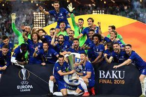 Cận cảnh: Dàn sao Chelsea ăn mừng chức vô địch Europa League