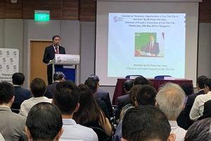 Cần Thơ kêu gọi đầu tư Singapore vào các lĩnh vực mũi nhọn