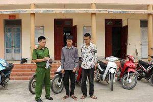 Nghiện game, hai vị thành niên trộm cắp liên tiếp 11 xe máy