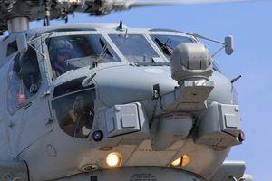 Trực thăng Hải quân Australia bị chiếu laser khi đang bay trên Biển Đông