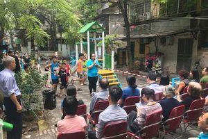 Sân chơi cộng đồng ra đời từ 'điểm nóng'