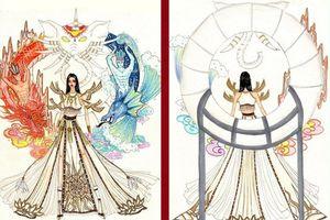 Trang phục dân tộc Sơn Tinh - Thủy Tinh 'gây bão' vì… quá tuyệt, fan tin Hoàng Thùy sẽ chiến thắng