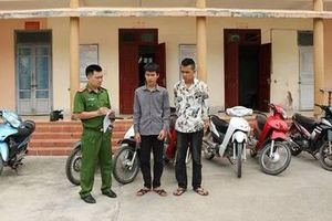 Bắt hai 'siêu trộm' hơn một tháng trộm cắp 11 chiếc xe máy