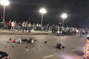 Lạng Sơn: 2 xe máy đối đầu trên cầu Kỳ Cùng, 4 thanh niên thương vong