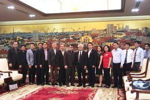 Đoàn công tác của Chính phủ Lào làm việc tại Hải Phòng