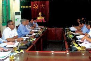 Bộ trưởng, Chủ nhiệm Đỗ Văn Chiến làm việc với Đoàn công tác của UBND tỉnh Lai Châu