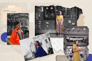 Lạ mắt với loạt ảnh check-in Sài Gòn 'ngày không màu'