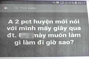 Phó Chủ tịch huyện 'tố' bị một cán bộ tỉnh xúc phạm trên Facebook