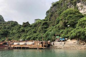 Kiên quyết xử lý các công trình trái phép trên vịnh Hạ Long