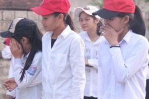 Trắng khăn tang làng quê 5 học sinh lớp 8 đuối nước tử vong