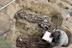 Cực sốc hài cốt 'người chim' trong mộ cổ 5.000 tuổi