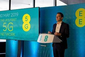 Nhà mạng EE chính thức cung cấp dịch vụ 5G thương mại tại Anh