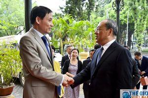 Thứ trưởng Ngoại giao Lê Hoài Trung tiếp Tỉnh trưởng Vân Nam Nguyễn Thành Phát