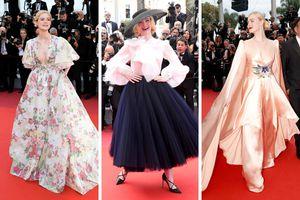 Lộng lẫy thời trang thảm đỏ Cannes
