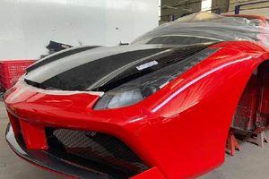 Tuấn Hưng sắp hồi sinh Ferrari 488GTB gặp tai nạn, tốn nhiều tỷ