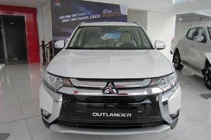 Mitsubishi Việt Nam triệu hồi gần 900 xe Outlander lỗi phanh đỗ phía sau