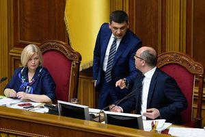 Vì sao Quốc hội Ukraine bác đơn xin từ chức của Thủ tướng Groysman?