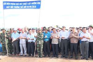 Bộ TN&MT phát động trồng rừng phòng hộ ven biển tại tỉnh Bạc Liêu