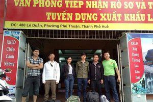 Thừa Thiên Huế: Hơn 550 lao động đi làm việc ở nước ngoài theo hợp đồng