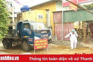 Huyện Đông Sơn họp khẩn, triển khai giải pháp khống chế dịch tả lợn Châu Phi