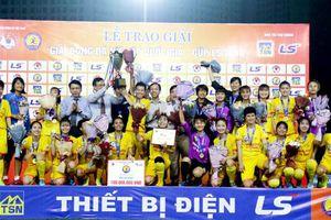 Phong Phú Hà Nam vô địch giải Nữ Cúp Quốc gia – Cúp LS 2019