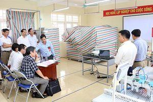 Khai mạc Hội thi thiết bị đào tạo tự làm Thành phố Hà Nội 2019