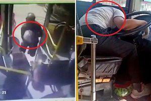 Clip: Bị lỡ chuyến, người đàn ông gọi taxi đuổi theo trả thù tài xế xe buýt