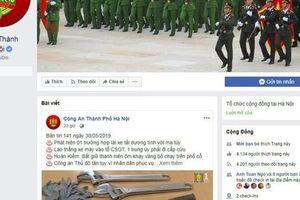 Công an Thành phố Hà Nội ra mắt Fanpage tiếp nhận thông tin về an ninh trật tự