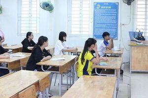 Hà Nội: 6 thí sinh được 2 giám thị phục vụ trong kỳ thi vào lớp 10