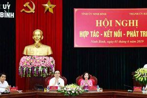 13 nội dung hợp tác giữa Hà Nội - Ninh Bình